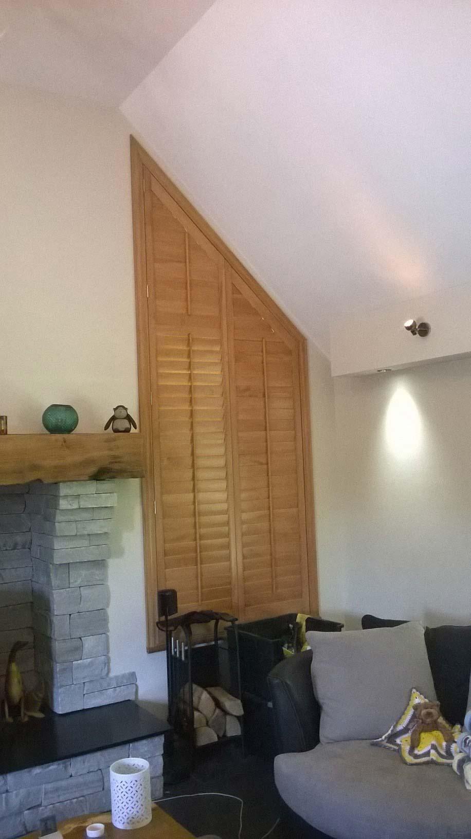 holzjalousie schr g jalousie. Black Bedroom Furniture Sets. Home Design Ideas