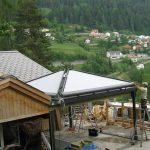 Schrägmarkise Pavillon